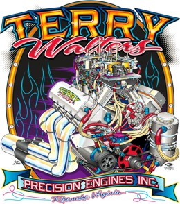 Terry Walters Engine Design Image